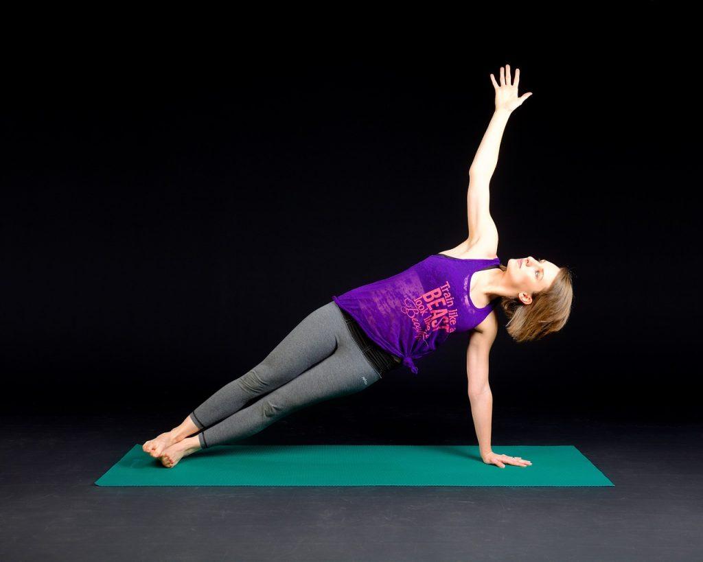 plank, fitness, muscular